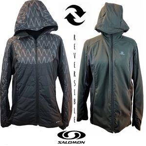 Salomon Pertex Classic Eco Reversible Jacket Sz XL
